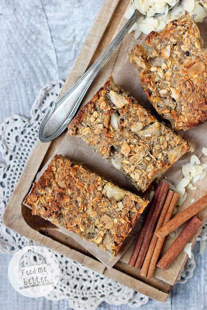 Feed Me Better: Dietetyczne batoniki śniadaniowe.