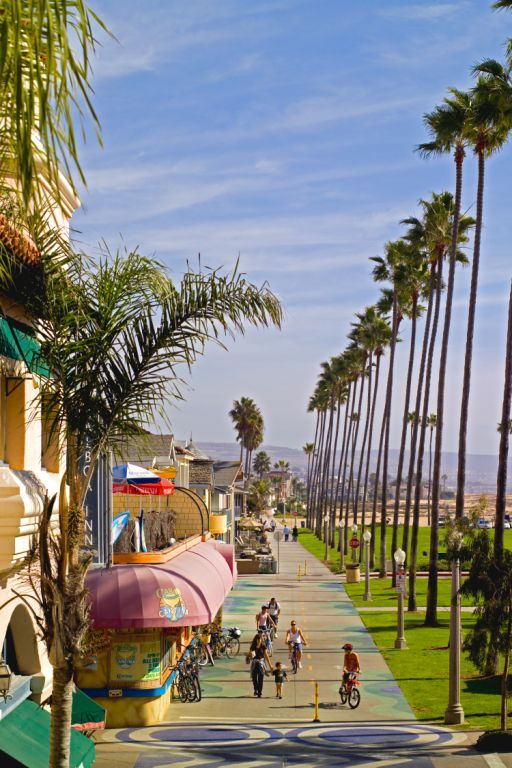 Balboa end boardwalk, Newport Beach