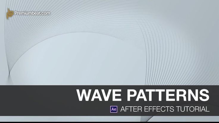 Video Tutorial: Wave Patterns in After Effects