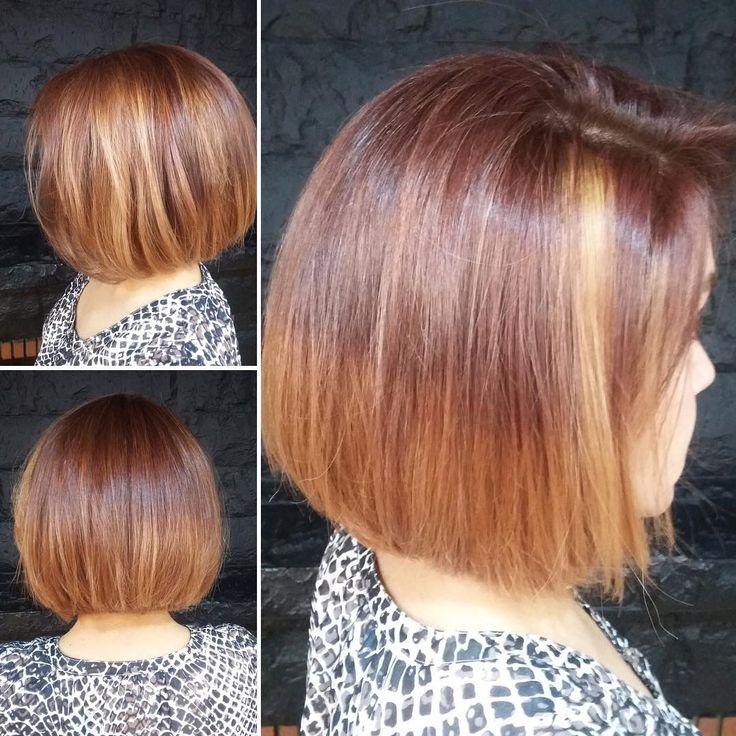 awesome Мелирование на темные волосы: фото до и после