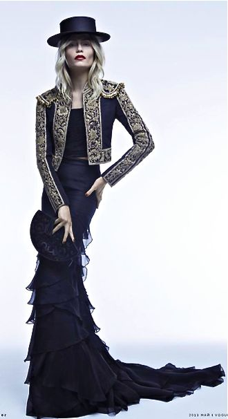 Ralph Lauren...love the dress, I could do without the matador jacket...