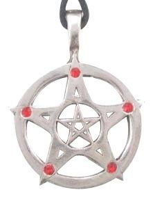 Red Crystal Pentagram Pewter Pendant Necklace Dan Jewelers. Save 25 Off!. $14.97. Does not tarnish. Hypoallergenic. Satisfaction guaranteed.. Dan Jewelers has tens of thousands of positive feedbacks across the internet.. Good value