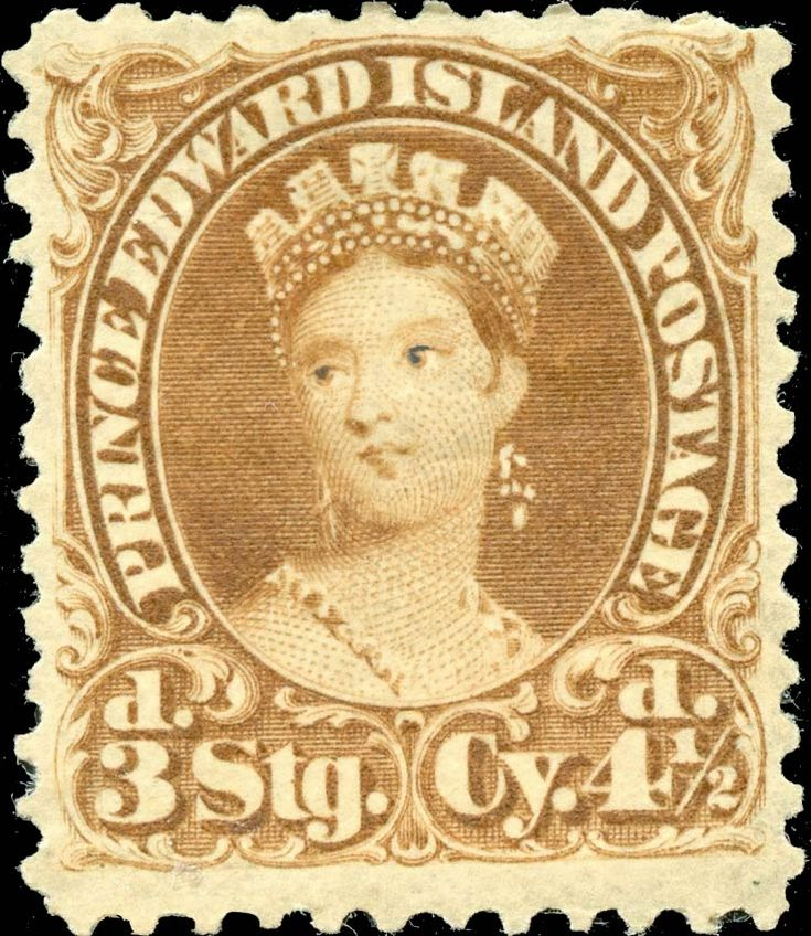 Prince Edward Island 1870. Queen Victoria. 4½ Pence