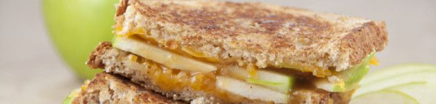 Caramel Apple Grilled Cheese Sandwich | Soup and Sandwich | Pinterest