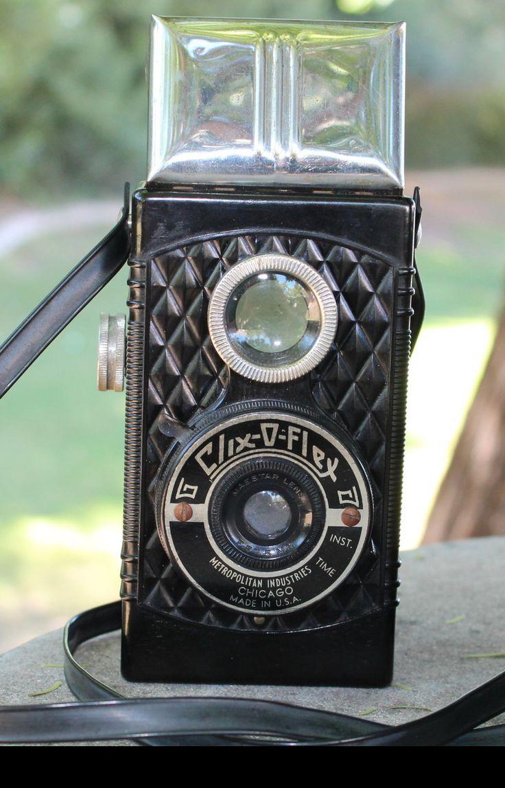Vintage clix o flex box camera 127 film ebay