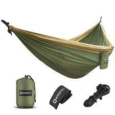 Ofertas- ECOOPRO Double Camping Hammock - Lightweight Portable Parachute Hammock: $35.80End Date: Jul-10 17:15Buy It… Envio Internacional-