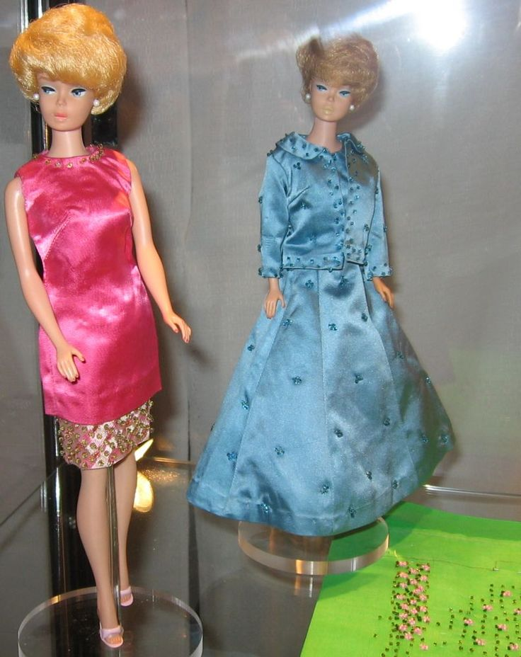 """National Barbie Convention 2006-Exhibit -- """"Treasures from Mattel's Vault""""  Prototype Fashions"""