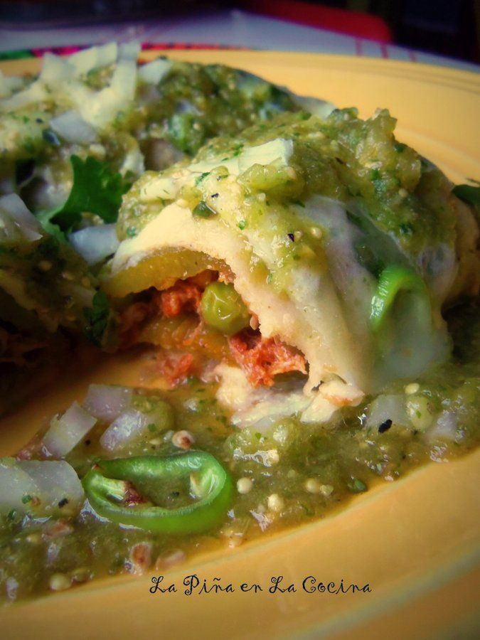 Chile Relleno Chicken Enchiladas                                                                                                                                                                                 More