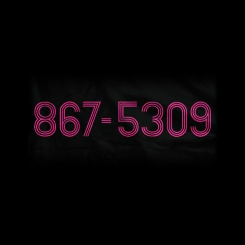 It's amazing there are people who were around for the 80's who don't get this. I know because I gave this number to some weird guy at a bar who asked for my number.