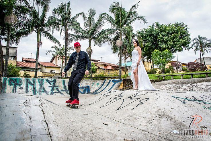 Ensaio Casamento Skate - Camila e Giba - Thiago Regis Fotografia