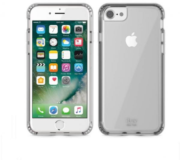 غطاء حماية متوافق مع ايفون 7 من اي لوف فضي Ai7metfsi Iphone Phone Electronic Products