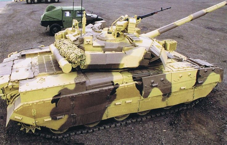 Georgy Konstantinovich Zhukov's History Emporium | A T-84M, the most current version of the T-80 as...