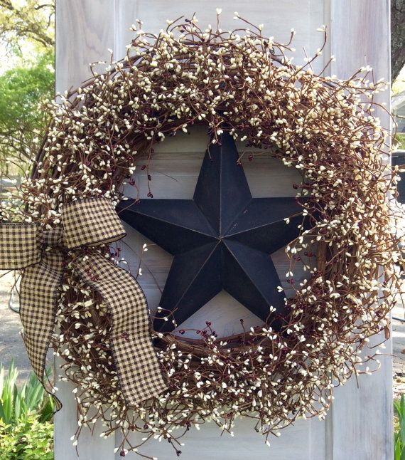 Extra Large Grapevine wreath  Pip Berry Wreath by ThePumpkinLadies