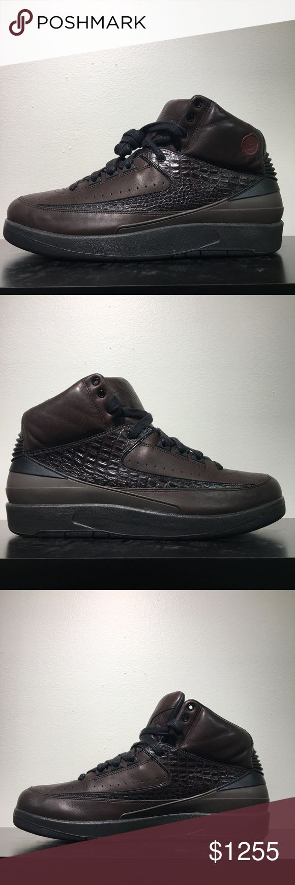 Air Jordan Retro 2 Premio Bin 23 One of the rarest and most sought after Jordan releases  ever!  In excellent condition   Comes with OG everything including dust bags and wooden shoe trees  It's rumored this legacy collection was created and scrapped due to the fact luxury materials of this caliber had never been on a Jordan release.   The designers went into the trashed designs, or the bin, and brought them to life Air Jordan Shoes Sneakers
