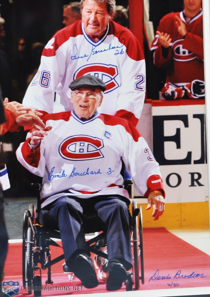 Émile Bouchard : Dans les années 1970, son fils Pierre joue au poste de défenseur pour les Canadiens de Montréal. Trente ans après les débuts de la dynastie des Canadiens à laquelle participe Émile Bouchard, son fils prend part à la suite en remportant quatre Coupes Stanley. Avec les cinq Coupes Stanley d'Émile et les quatre de Pierre, ils détiennent le record pour le plus grand nombre de Coupes Stanley pour un duo père-fils dans l'histoire de la LNH.
