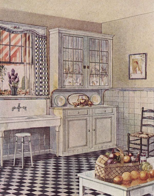 215 best images about 1920 39 s homes on pinterest dutch for 1920 kitchen design ideas