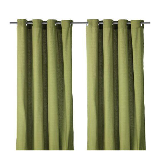 Curtains, 1 pair, MARIAM