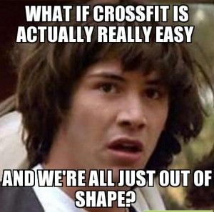 Crossfit bad form meme