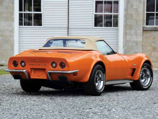 1973 Chevrolet Corvette Stingray Convertible C 3 Supercar Muscle Classic F Musclecars Chevrolet Corvette Stingray
