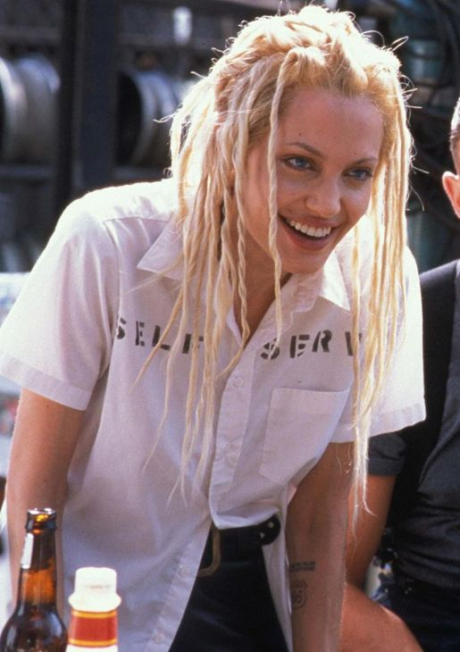 suicideblonde:  Angelina Jolie in Gone in 60 Seconds