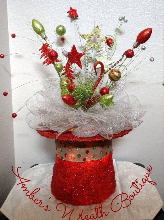 NEW Holiday Christmas Decoration Red Sparkle Snowman Glitter Ornament