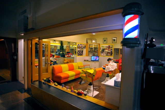 Pasadena (now Macys) retains its 1947 Childrens Barber Shop ...