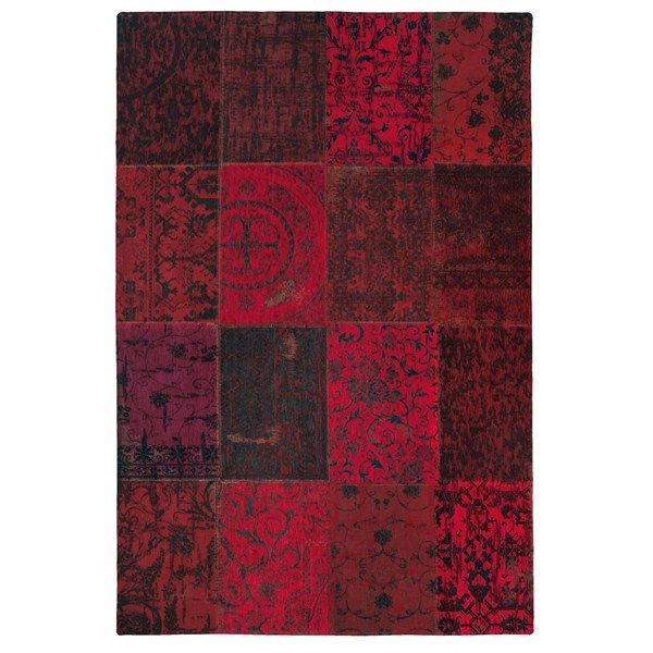 Vintage Rugs Multi 8014 Red Coloured Online From The Rug Er Uk Louis De
