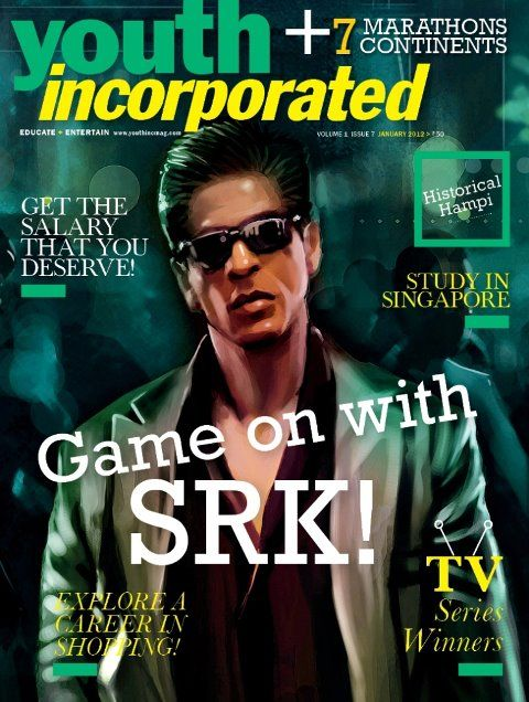 Shah Rukh Khan. Youth Incorporated.