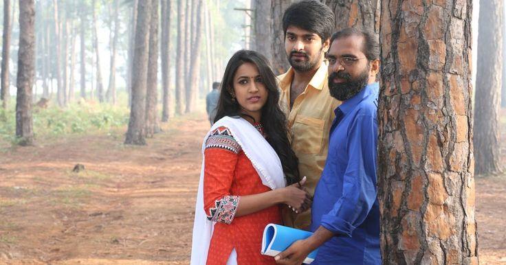 Niharika Konidela, Naga Shourya, Rama Raju, Pragathi, Rao Ramesh and others are seen on Oka Manasu Movie onlocation Photos