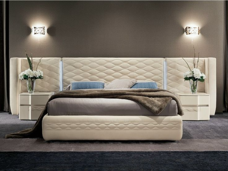 Bed with upholstered headboard Chanel Collection by Dall'Agnese | design Studio Arbet                                                                                                                                                                                 More