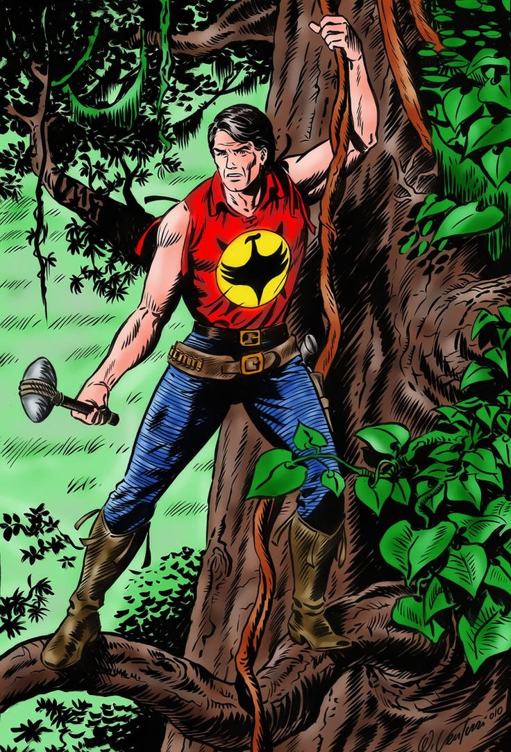 Now, this one is is not worldwide, this one is local. Europe knows what Zagor is all about. You don't wanna mess with Zagor.