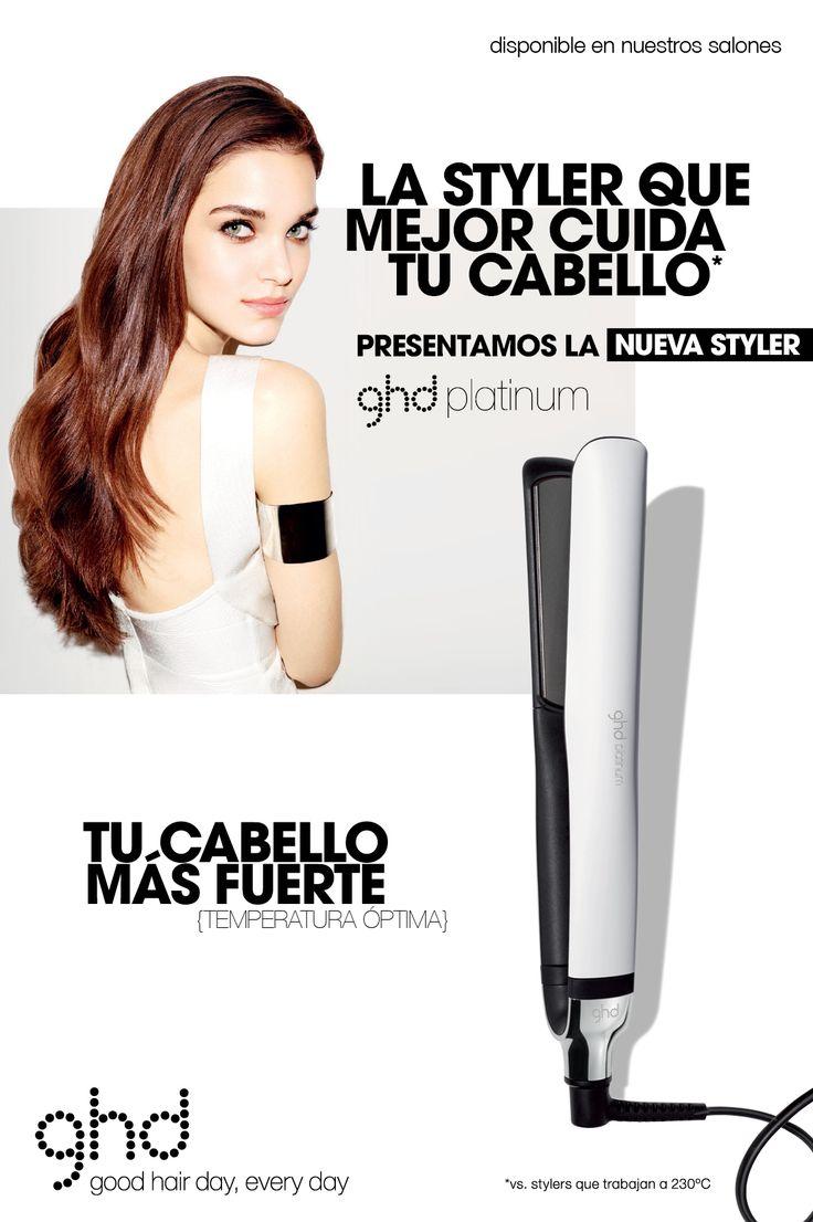 ghd Platinum es tu plancha de peinado @ghdspain #ghd http://www.babling.es/es/product/3040165-ghd-platinum-white-arctic-gold-plancha