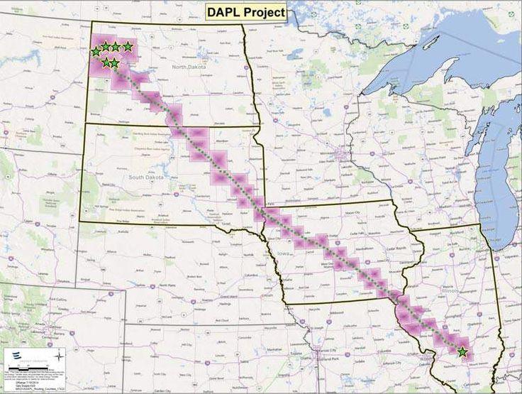 Dakota Access Pipeline Maps & Route: Where Would It Run? | Heavy.com