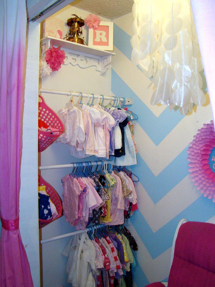 Diy Toddler Girl Bedroom Diy Nursery Closet This Would