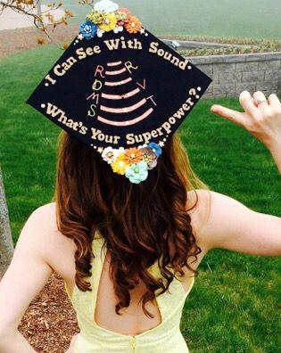 sonography graduation cap   cute dms grad cap