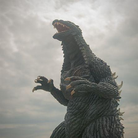 X-Plus Toho 30cm Series Godzilla 2003 Vinyl Figure Review ...