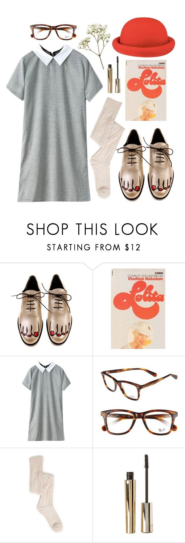 """""""if you want to sing out, sing out (tag)"""" by celluloid ❤ liked on Polyvore featuring Luella, CO, H&M, Ray-Ban and Stila"""