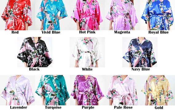 You can easily combine YOUR OWN SET of robes choosing ANY quantity, sizes and colors.  HOW TO ORDER: Select any Set of quantity of robes you need;