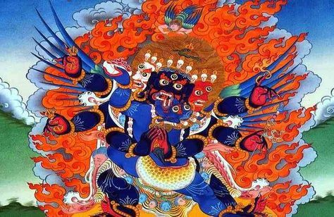 Vajrakilaya Mantra in Tibetan Buddhism is thought to be one of the most powerful mantras to dissolve the obstacles in your life.