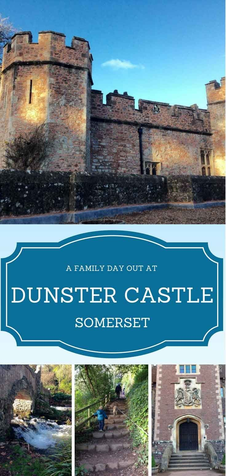 With medieval features, stunning gardens, a lovely river walk, a water mill that produces flour and tea rooms Dunster Castle in Somerset is a great family day out.