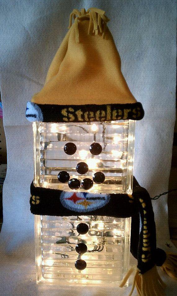 PITTSBURGH STEELERS~Mr. Steeler's snowman