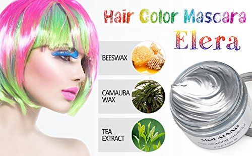 Elera Temporary Hair Color Wax Professional Hair Dye for Men Women (gray) *** For more information, visit image link. #hairproduct