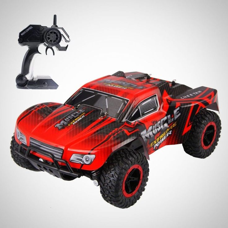 Kids RC Car Toy Off Road High Speed Children Racing Rock Crawler Monster Truck #RCCarToy