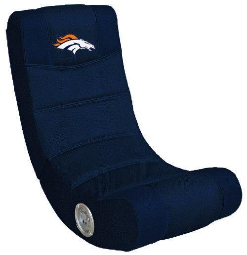 Denver Broncos Video Chair W/ Bluetooth