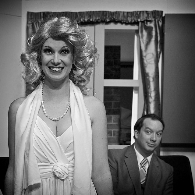 Ulla & Leo from The Producers    Something a little different from me!!!    I've been on an amazing journey with the Tauranga Musical Theatre and their production of the Mel Brooks musical comedy The Producers.    Read more here - http://aperturepriority.co.nz/2012/09/20/the-producers/
