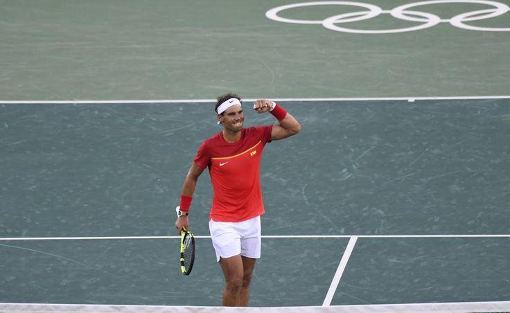 Rafa Into SFs! ... Via ITF Olympic Tennis   ·  Here is the men's SF line-up: Rafael Nadal #ESP v Juan Martin del Potro #ARG Kei Nishikori #JPN v Andy Murray #GBR 8/12/16