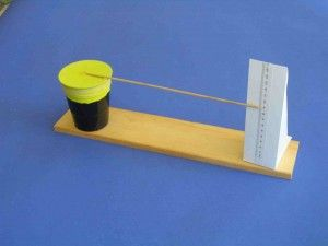 A Simple Barometer. Do you know how to make your own barometer at home? Teach you kids how to make your very own barometer. Go here: http://easyscienceforkids.com/make-your-own-barometer/