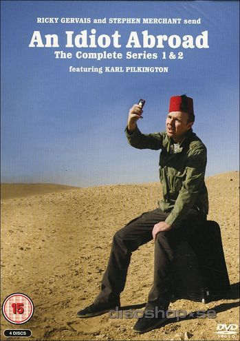 An idiot abroad - Series 1 & 2 (4-disc) (Import)