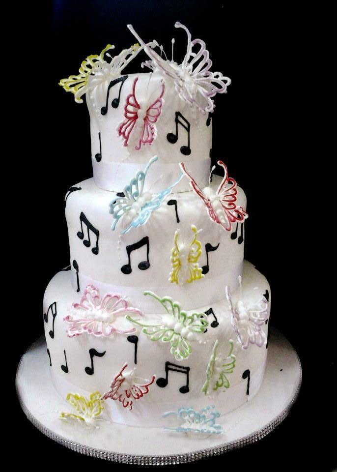 bagna alle fragole e #torta musicale della pasticceria LaMimosa di Tollo