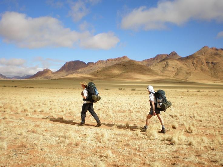 #Trekking in #Namibia #Africa